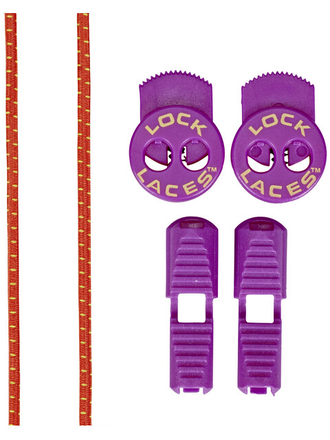 Lock Laces Run Laces Purple Cactus